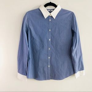 Uniqlo Tops - Uniqlo Button Down Blouse